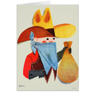 Cops and Robbers Greeting Cards