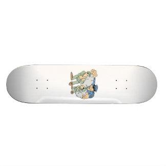 Cops and Robbers Custom Skateboard