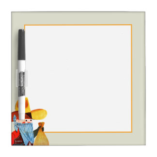 Cops and Robbers Dry Erase Board
