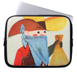 Cops and Robbers Laptop Sleeve