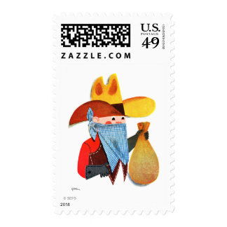 Cops and Robbers Stamps