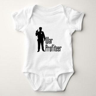 Cops are war profiteers baby bodysuit