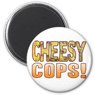 Cops Blue Cheesy Magnet