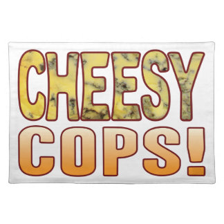 Cops Blue Cheesy Placemat