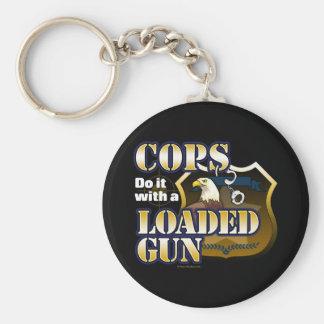 Cops Do It Keychain