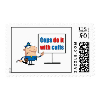 cops do it with cuffs postage