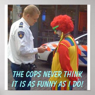 Cops Funny poster