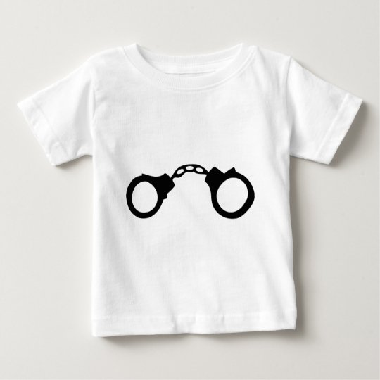 cops handcuffs baby T-Shirt