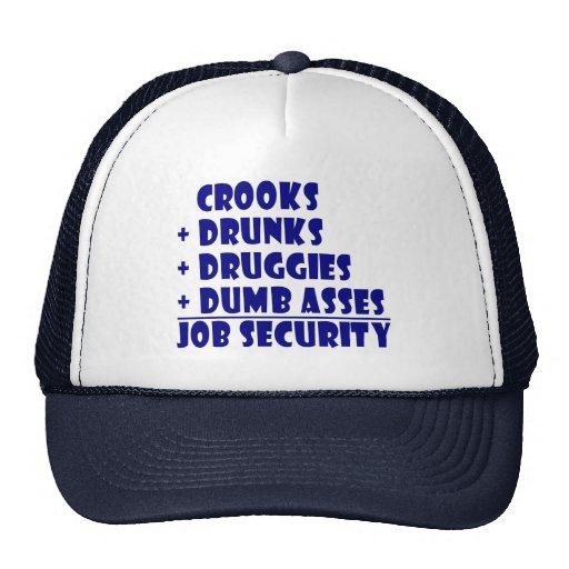 COPS job security Mesh Hat