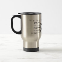 Cops Jokes Gifts Travel Mug