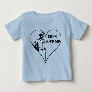 Cops Love Me Baby T-Shirt