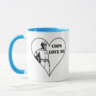 Cops Love Me Mug