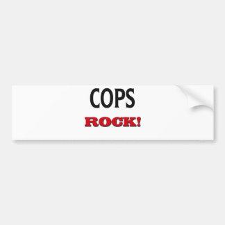 Cops Rock Bumper Stickers