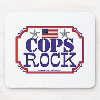 Cops Rock Mouse Pad