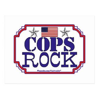 Cops Rock Postcard