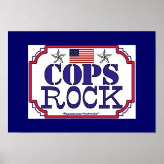 Cops Rock Print