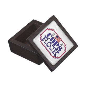 Cops Rock! Premium Keepsake Boxes