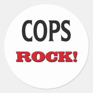 Cops Rock Stickers