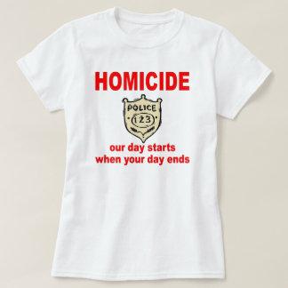 COPS SHIRT W homicide