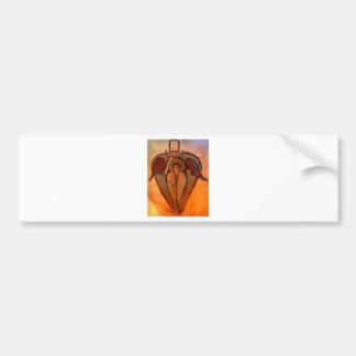 Coptic Archangel Bumper Sticker