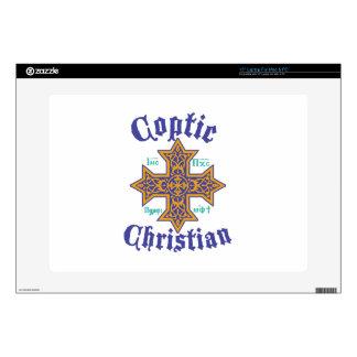 Coptic Christian Laptop Skin