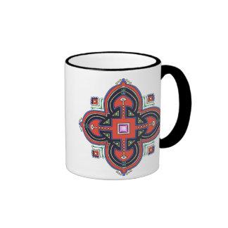 Coptic Cross Drinkware Ringer Mug