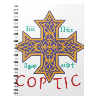 Coptic Spiral Notebook