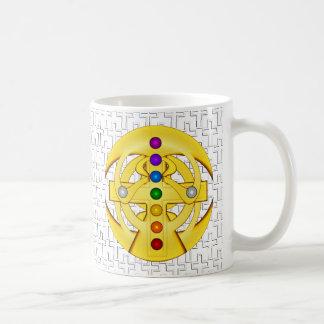 Coptic Styled Cross Classic White Coffee Mug