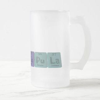 Copula-Co-Pu-La-Cobalt-Plutonium-Lanthanum.png Frosted Glass Beer Mug
