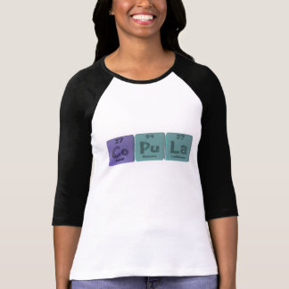 Copula-Co-Pu-La-Cobalt-Plutonium-Lanthanum.png Tee Shirt