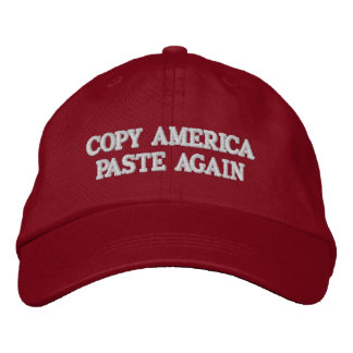COPY AMERICA PASTE AGAIN Hat