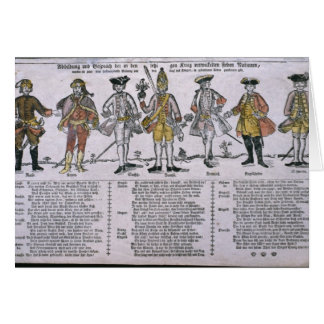 Copy and Discussion of the Nations Greeting Card