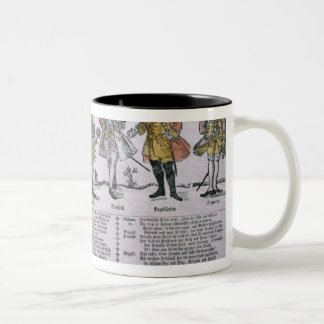 Copy and Discussion of the Nations Two-Tone Coffee Mug