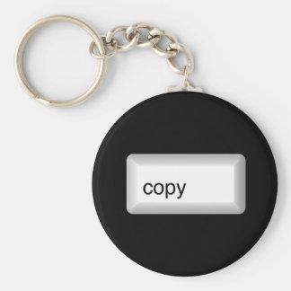 copy basic round button keychain