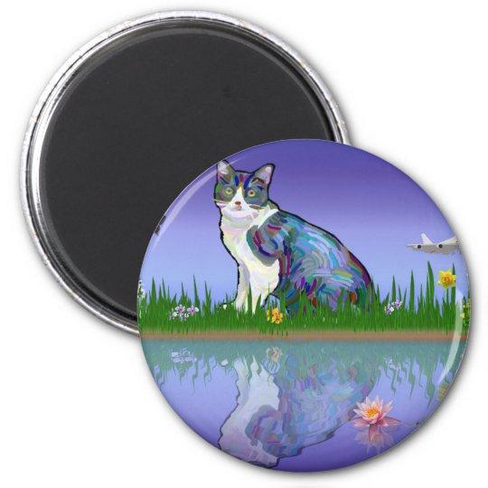 Copy Cat Magnet