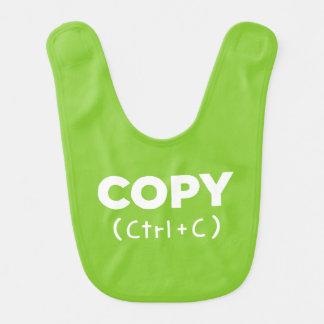 COPY Ctrl+C {Copy & Paste} Bibs for Twins