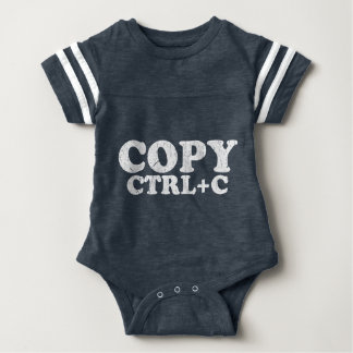 COPY Ctrl+C Copy Paste Twins Baby Bodysuit