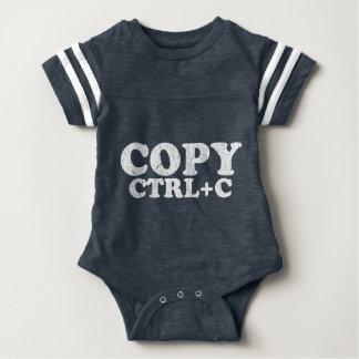 COPY Ctrl+C Copy Paste Twins Baby Bodysuit
