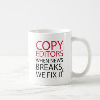 Copy Editors Classic White Coffee Mug