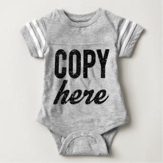 COPY For Copy Paste Twins Baby Bodysuit