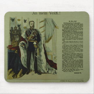 Copy of a declaration from Frederick III Mouse Pad