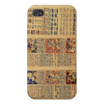 Copy of a fragment of the Dresden Codex iPhone 4/4S Cases