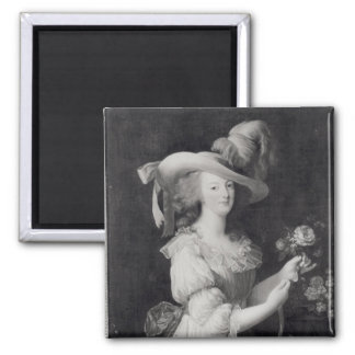 Copy of a Portrait of Marie-Antoinette Refrigerator Magnets
