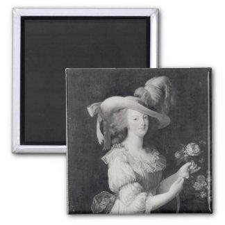 Copy of a Portrait of Marie-Antoinette Magnet