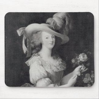 Copy of a Portrait of Marie-Antoinette Mouse Pads