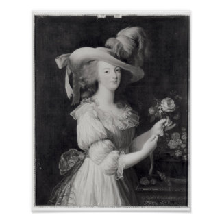 Copy of a Portrait of Marie-Antoinette Poster