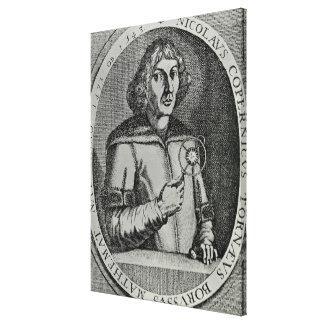 Copy of a Self Portrait Canvas Print