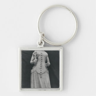 Copy of a statue of Isabella of Bavaria Keychain