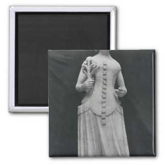 Copy of a statue of Isabella of Bavaria Refrigerator Magnet