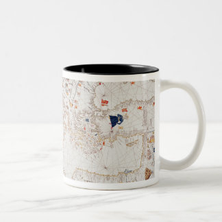 Copy of Catalan Map of Europe, North Africa Coffee Mug